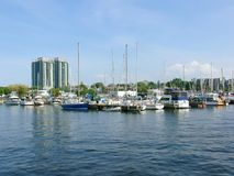 Hamilton harbor royalty free stock images