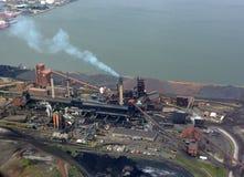 Hamilton Industry, aéreo Foto de archivo libre de regalías
