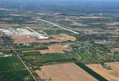 Hamilton International airport Summer aerial Stock Photography