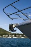 Hamilton Island anchor upclose. Anchor upclose viewed from Hamilton Island Stock Photo