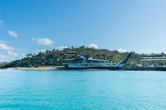 Hamilton Island, Australia stock image