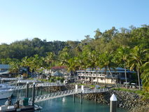Hamilton Island Marina Tropical Paradise Australia Royalty Free Stock Photo