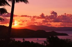 Hamilton Island, Queensland du nord tropical Photos libres de droits