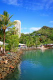 Hamilton Island resort. In the Whitsundays, North Queensland Australia stock photo