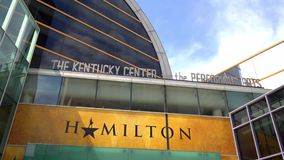 Hamilton at the Kentucky Center for the performing Arts in Louisville - LOUISVILLE, USA - JUNE 14, 2019