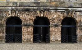 Hamilton Mausoleum Gates Immagine Stock