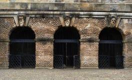 Hamilton Mausoleum Gates Stock Image