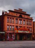 Hamilton Movie Theater royalty-vrije stock foto's