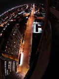 Hamilton-Nachtansicht Lizenzfreies Stockfoto