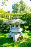 HAMILTON, NZ - 25 DE FEBRERO DE 2015: Jardín japonés de la reflexión en Hamilton Gardens Imagen de archivo
