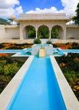 HAMILTON, NZ - 25 FEBRUARI, 2015: De Indische Tuin van Klusjesbagh in Hamilton Gardens Royalty-vrije Stock Foto's