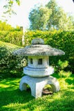 HAMILTON, NZ - 25 FEBRUARI, 2015: Japanse Tuin van Overpeinzing in Hamilton Gardens Stock Afbeelding