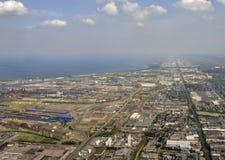Hamilton Ontario aerial Stock Images