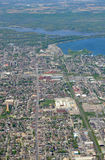 Hamilton Ontario aerial Royalty Free Stock Photos