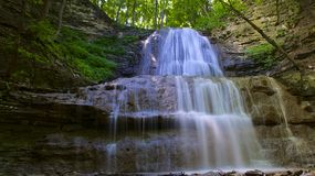 Hamilton Ontario Waterfall Photo libre de droits