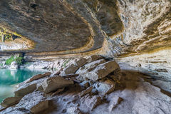 Hamilton Pool Collapse Arkivfoto
