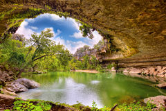 Hamilton Pool Stock Photo