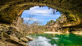 Hamilton Pool Texas images libres de droits