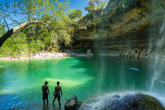 Hamilton Pool Texas Stockfotografie