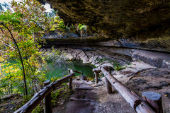 Hamilton Pool Walkway Royalty Free Stock Photos