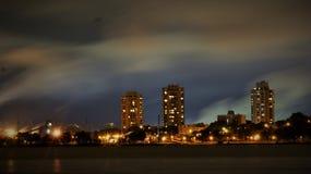 Hamilton skyline royalty free stock photo