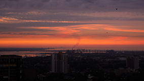 Hamilton Sunrise Fotografia Stock
