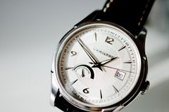 Free Hamilton Swiss Made Watch Detail Close-up Royalty Free Stock Images - 79068079
