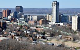 Hamilton van de binnenstad, Ontario Stock Foto's