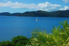 Hamilton wyspy żeglowanie Zdjęcia Stock