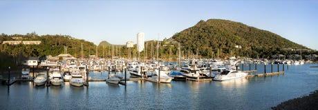 Hamilton wyspy Marina Obrazy Royalty Free