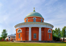 Hamina. De orthodoxe Kerk stock foto
