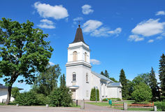 Hamina, Finland. Church Vehkalahti, 14 century Royalty Free Stock Photo
