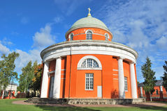 Hamina, Finland. Unique round church Royalty Free Stock Photos