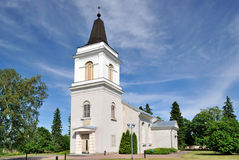 Hamina. Vehkalahti Church, 14 century. Stock Image