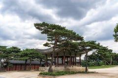 Haminjeong pavilion in changgyeonggung palace stock image