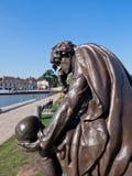 Hamlet. Statue of Hamlet Stratford upon Avon Warwickshire England United Kingdom Europe royalty free stock photo