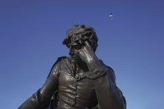 Hamlet. Statue of Hamlet Stratford upon Avon Warwickshire England United Kingdom Europe stock images