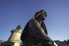 Hamlet. Statue of lady macbeth Stratford upon Avon Warwickshire England United Kingdom Europe Stock Image
