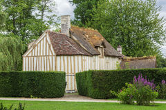 The Hamlet in the castle park Royalty Free Stock Image