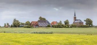 Hamlet holandês de Warstiens imagem de stock