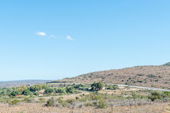 Hamlet of Middleton. MIDDLETON, SOUTH AFRICA - FEBRUARY 19, 2016: Middleton is a hamlet in the Eastern Cape Province 30 km south of Cookhouse and originally was Stock Photo