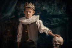 Hamlet - príncipe de Dinamarca Imágenes de archivo libres de regalías