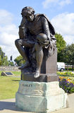 Hamlet statue in Stratford-upon-Avon Royalty Free Stock Image
