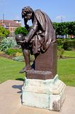 Hamlet statue, Stratford-upon-Avon. Royalty Free Stock Image