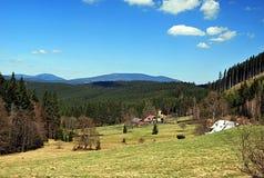 Hamlets in Moravskoslezske Beskydy Stock Images