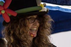 HAMM, GERMANIA NOVEMBRE 2017: Carnevale, Rosenmontag il giorno prima dell'estremità tradizionale dei mari di carnevale immagini stock