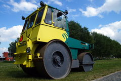 Hamm Trilrolwals (Steel Roller) - Pavement Compaction Equipment Stock Photography