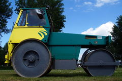 Hamm Trilrolwals (Steel Roller) - Pavement Compaction Equipment Stock Image