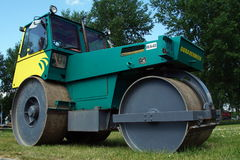 Hamm Trilrolwals (Steel Roller) - Pavement Compaction Equipment Royalty Free Stock Photos