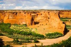 Hammada-Tal-Szene Arizonas rote Stockbild